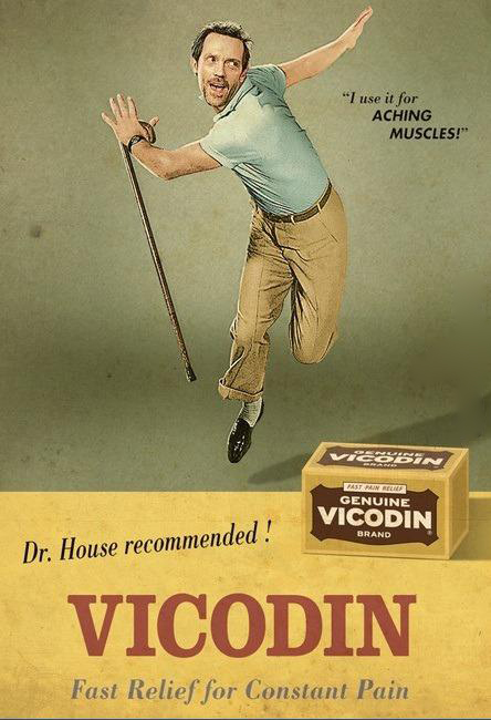 House e il vicodin