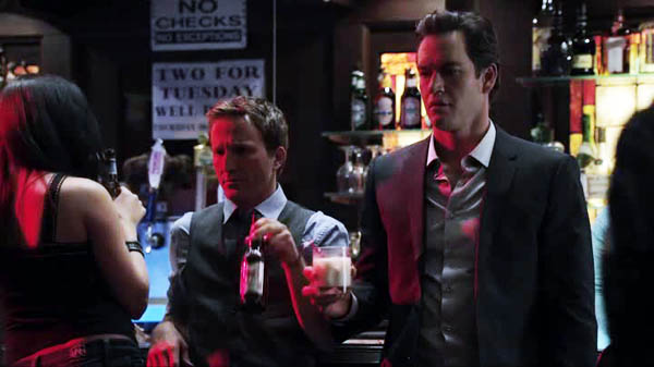Franklin & Bash - House burned down