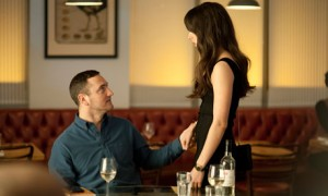 Will Mellor as David and Oona Chaplin as Mia in Dates. Photograph: Yhfphoto/Channel 4