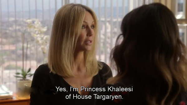Franklin & Bash - Heather Locklear e Khaleesi