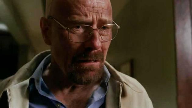 Breaking Bad Walt sconvolto
