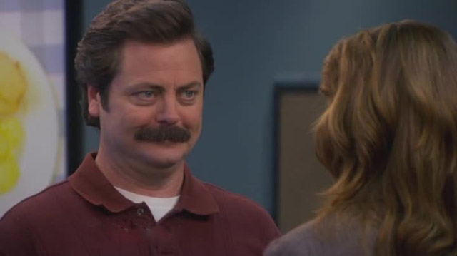 Parks & Rec - Ron si sposa