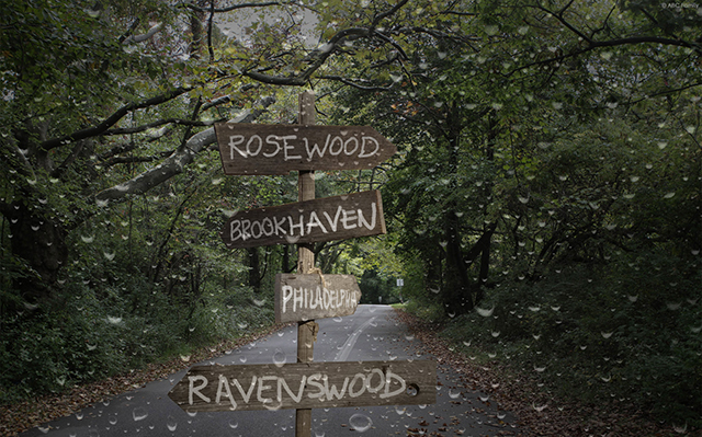 Ravenswood_directional_sign_road