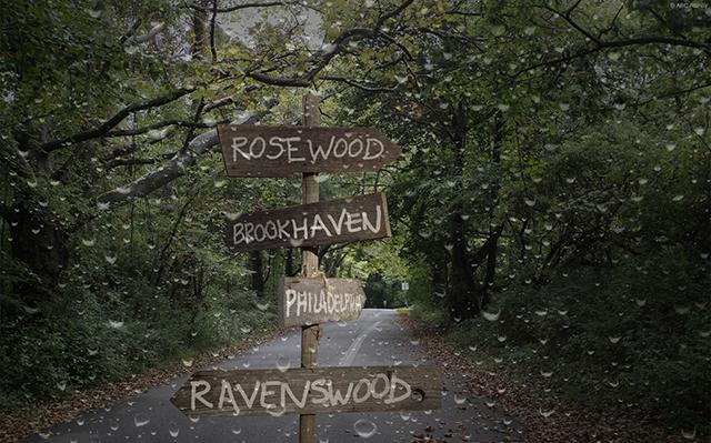 Ravenswood_directional_sign_road