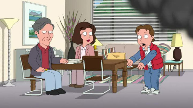 Family Guy - Back to the future