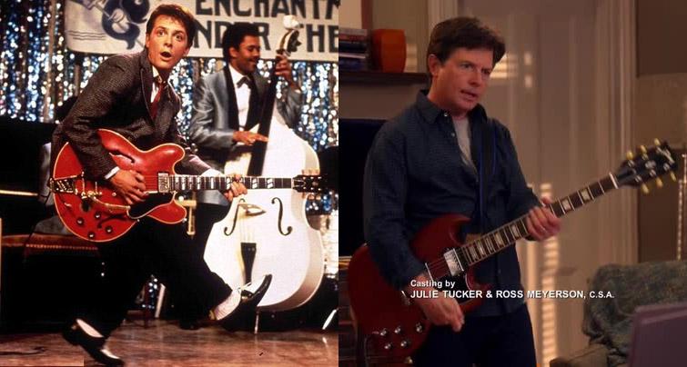 Michael J Fox chitarra