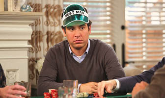 How I Met Your Mother - Ted Mosby poker cop