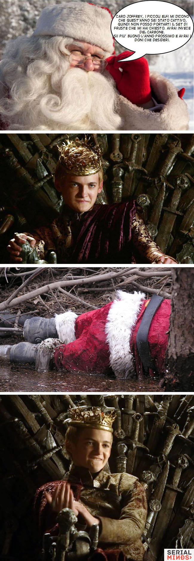 Joffrey e Babbo Natale