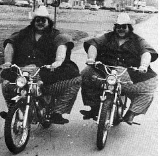 obese bikers