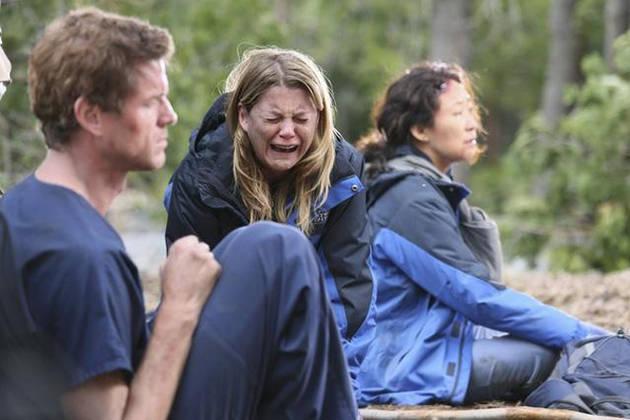 Meredith piange