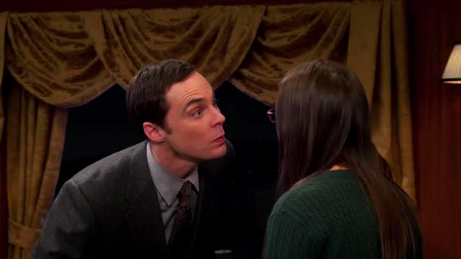 TBBT - Bacio Sheldon Amy