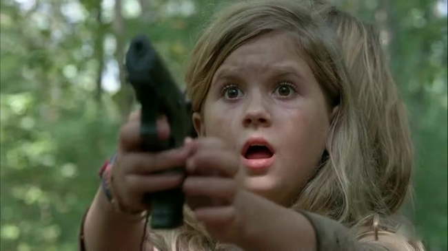 The Walking Dead - Bambine