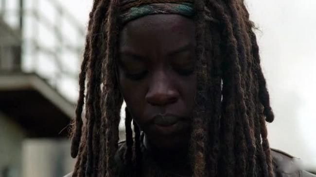 The Walking Dead - Michonne uccide Hershel