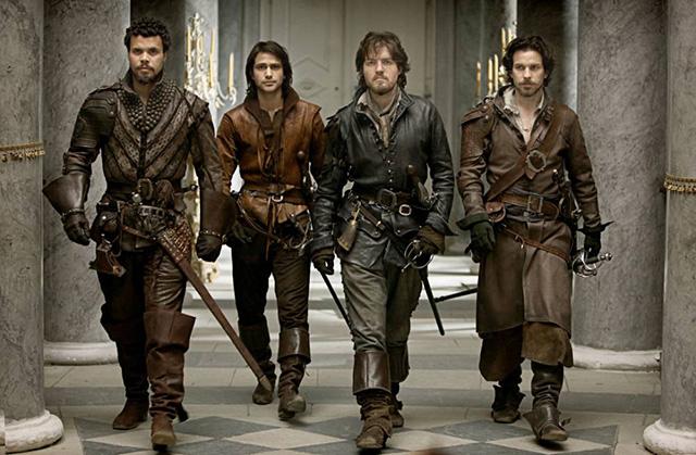 The musketeers i moschettieri di bbc senza infamia e