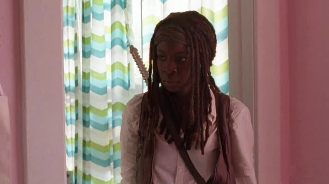 The Walking Dead - Michonne stanza rosa