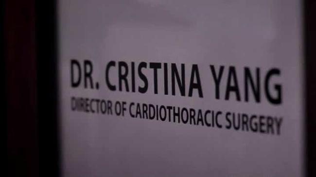 Grey's Anatomy - Addio a Cristina