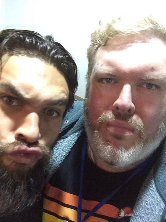 Hodor e Khal Drogo