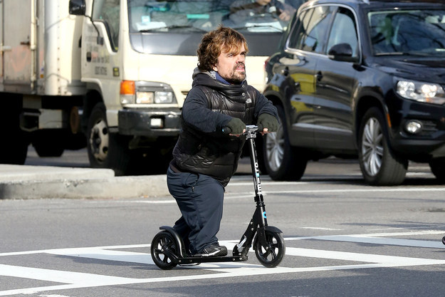 Tyrion e il monopattino