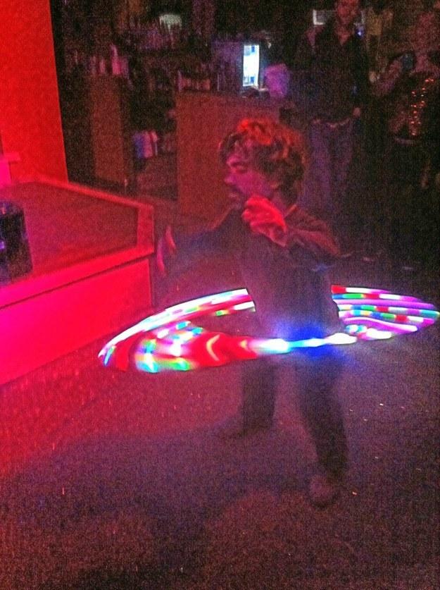 Tyrion e l'hula hoop