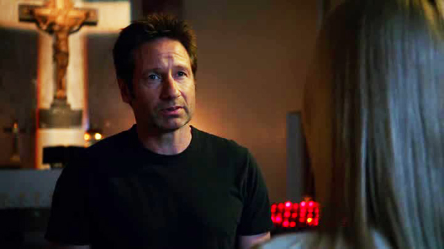 Californication - Hank in chiesa