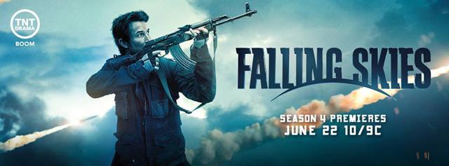Falling Skies copertina