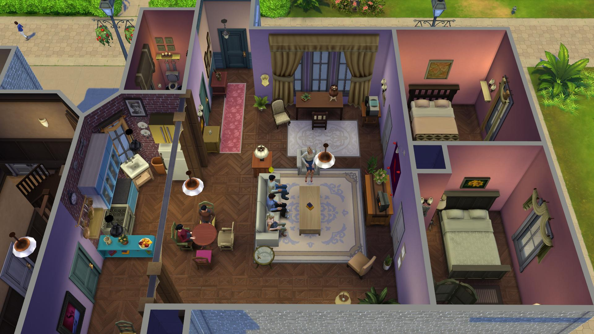 Friends Sims (2)