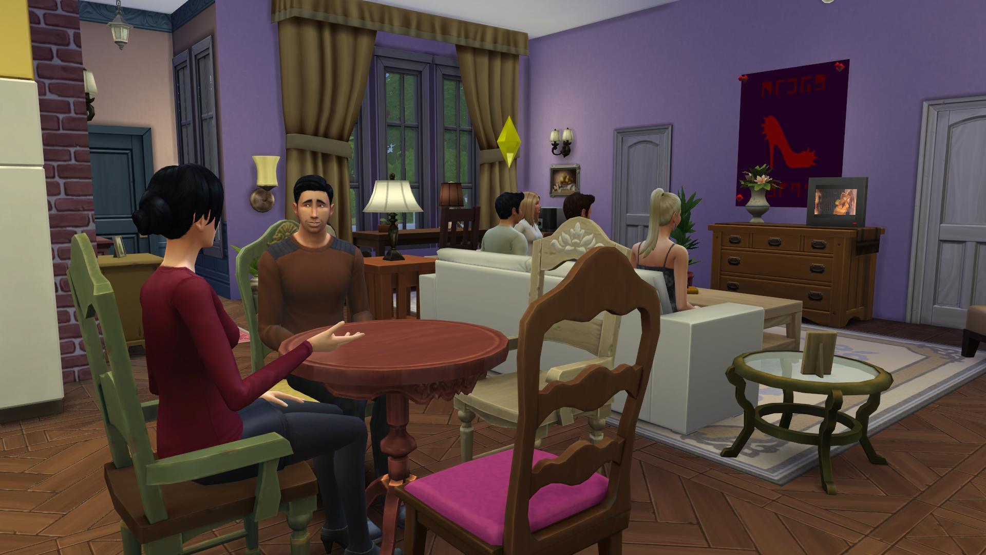 Friends Sims (4)