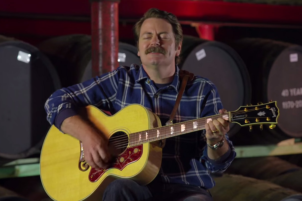Nick Offerman Whiskey