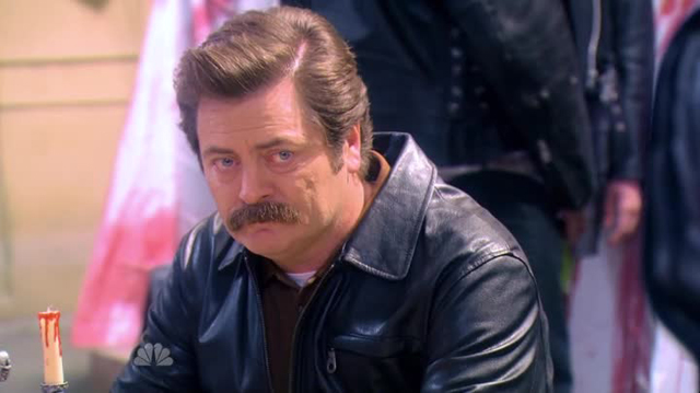 Parks & Recreation - Ron triste