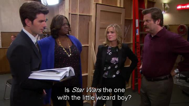 Parks & Recreation - Star Wars