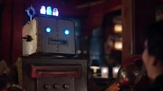 Man seeking woman robot