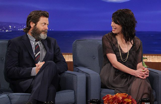 Nick Offerman Lena Headey
