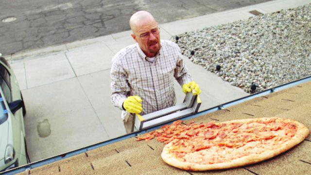 Walter White pizza