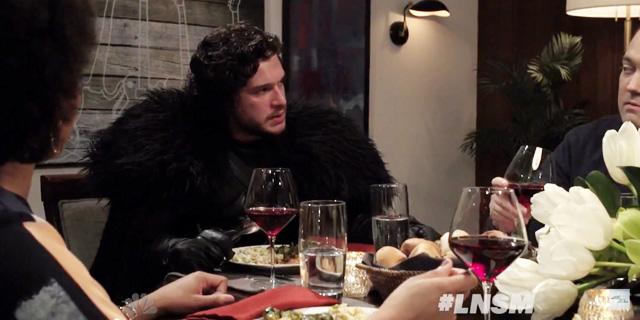 Jon Snow a cena