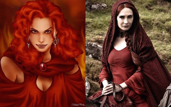 MelisandreTheRedWoman