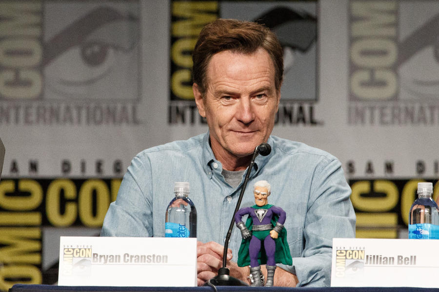 Rob Lowe, Bryan Cranston, and Seth Green appear at Comic-Con