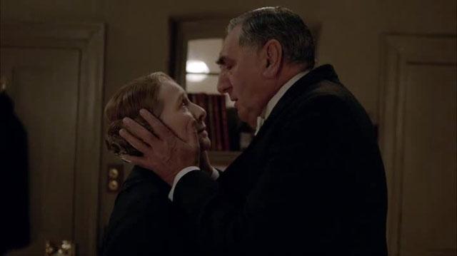 Downton abbey carson hughes