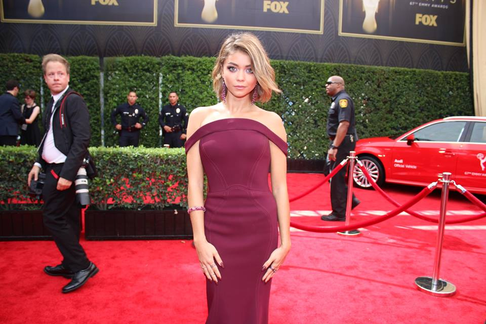 Sarah Hyland at the 2015 #Emmys. Modern Family