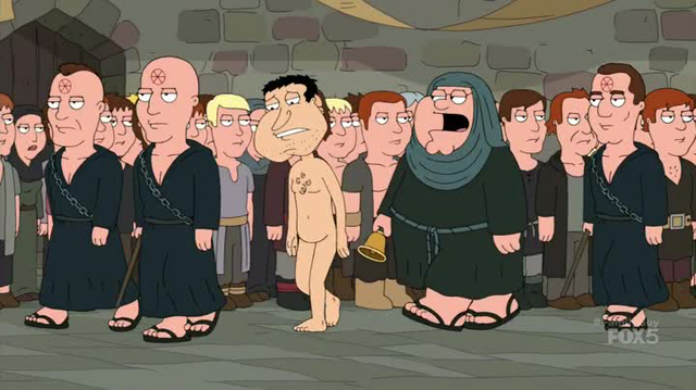 Family Guy Game of Thrones
