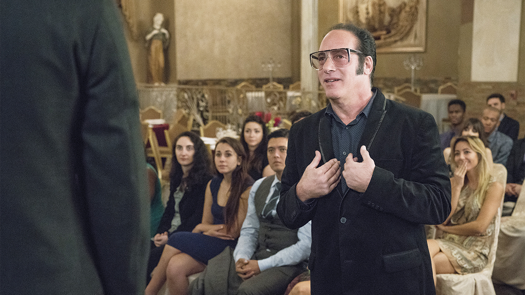 Andrew Dice Clay as himself in DICE (Season 1, Episode 1). - Photo: Michael Desmond/SHOWTIME - Photo ID: Dice_101_VEGAS_4411.R