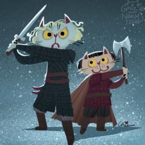 Brienne and Podrick
