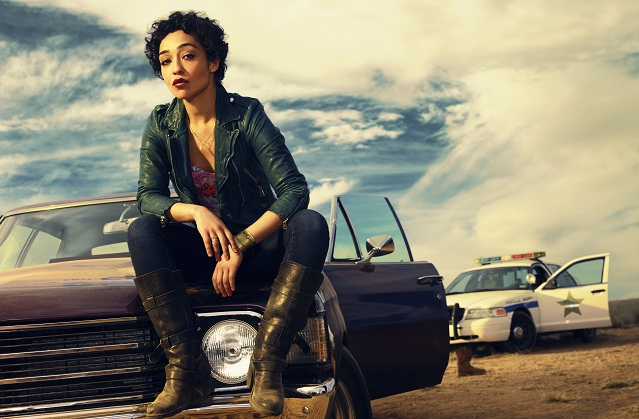 Ruth Negga as Tulip O'Hare; Preacher _ Season 1, Gallery - Photo Credit: Matthias Clamer/AMC