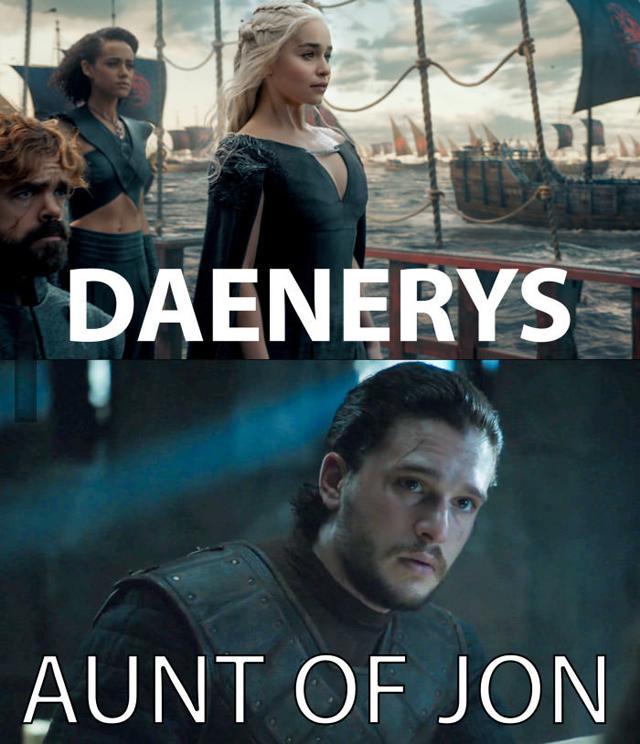 Daenerys zia di Jon