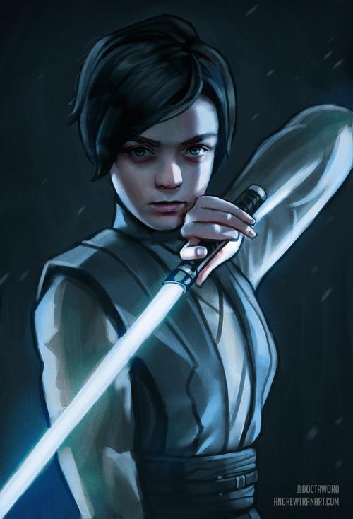 Arya Stark, Jedi Padawan