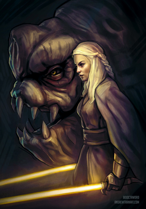 Jedi General Daenerys, Mother of Rancors