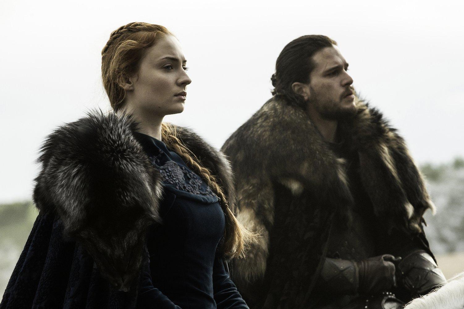 jon e Sansa