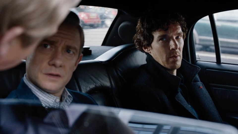 ****Ruckas Videograbs**** (01322) 861777 *IMPORTANT* Please credit the BBC for this picture. 25/07/16 Grabs from the first teaser trailer for the fourth series of Sherlock. The teaser see's Benedict Cumberbatch and Martin Freeman reprising their roles of Sherlock Holmes and John Watson respectively, and Amanda Abbington returning as Mary. Toby Jones is also seen playing a villain (thought to be Culverton Smith) while Andrew Scott, Lindsay Duncan and Una Stubbs also star in the trailer for the series - due to air on the BBC in 2017. Office (UK) : 01322 861777 Mobile (UK) : 07742 164 106 **IMPORTANT - PLEASE READ** The video grabs supplied by Ruckas Pictures always remain the copyright of the programme makers, we provide a service to purely capture and supply the images to the client, securing the copyright of the images will always remain the responsibility of the publisher at all times. Standard terms, conditions & minimum fees apply to our videograbs unless varied by agreement prior to publication.