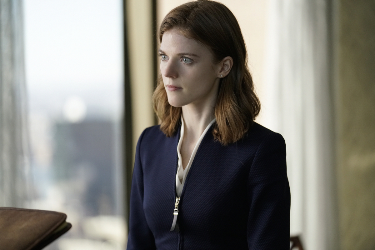 Pilot -- Episodic coverage of THE GOOD FIGHT. Pictured: Rose Leslie as Maia Rindell. Photo: Patrick Harbron/CBS ©2016 CBS Interactive, Inc. All Rights Reserved