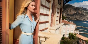 Riviera - Series 01  First look images.  Julia Stiles as Georgina Clios.