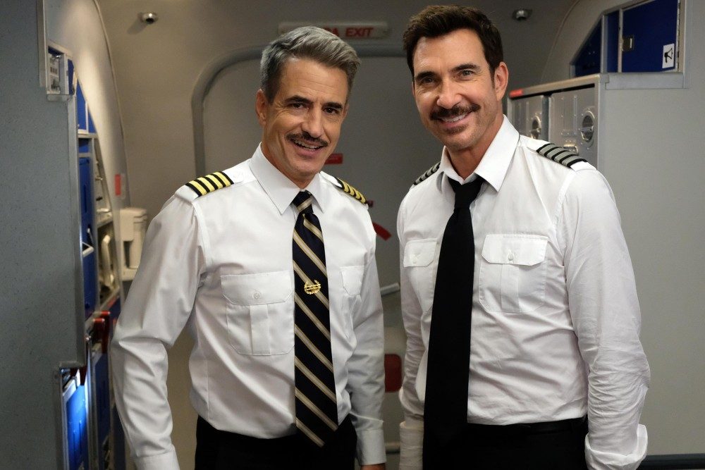 LA TO VEGASL-R: Guest star Dermot Mulroney and Dylan McDermott